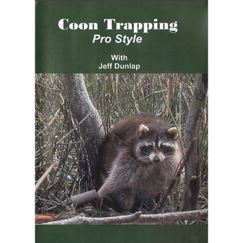 Coon Trapping Pro Style with Jeff Dunlap  #dunnprodvdnew